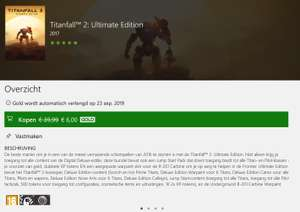 Titanfall 2 Ultimate Edition (Deals with Xbox Live Gold)