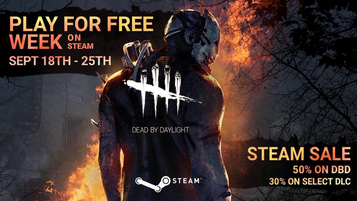 Dead by Daylight free weekend @ Steam