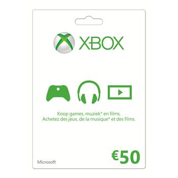 Xbox Live Gift Card 50 Euro voor €40 @ Dixons en Media Markt