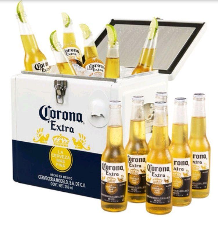 Corona koelbox + 12 flesjes @iBood