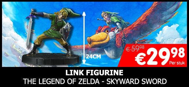 Link Figurine - The Legend of Zelda - Skyward Sword