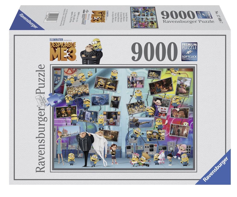 Ravensburger Despicable Me 3 - 9000 stukjes puzzel @Bol.com