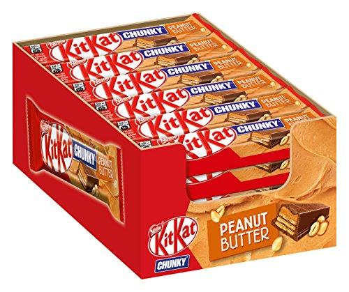Nestlé KitKat Pindakaas l 24x42 Gram l Amazon.de.