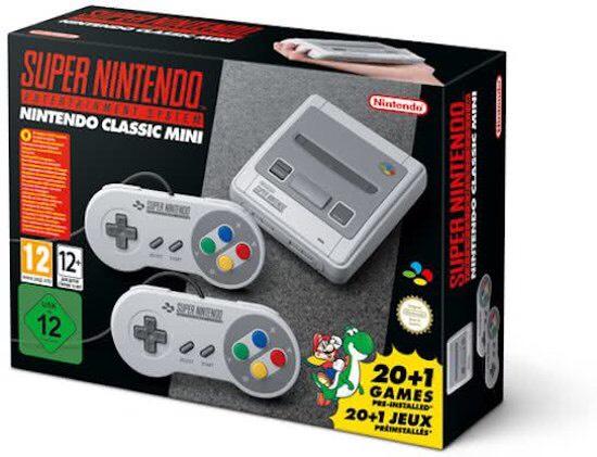 Super Nintendo Classic Mini (exclusief voor prime)