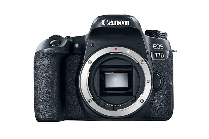 Canon 77D body @ Amazon.de