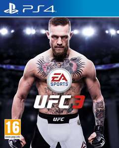 EA Sports UFC 3 (PS4/XB1) voor €38,88 @ Game-Outlet