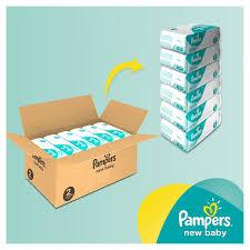 Pampers maandbox voor €32,49 / €20 korting vanaf €40 op Pampers @ Wehkamp
