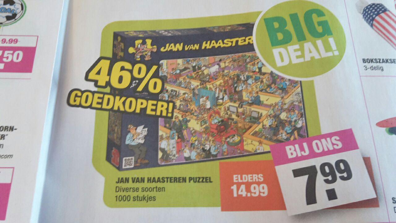 Jan van haasteren puzzel - Big bazar