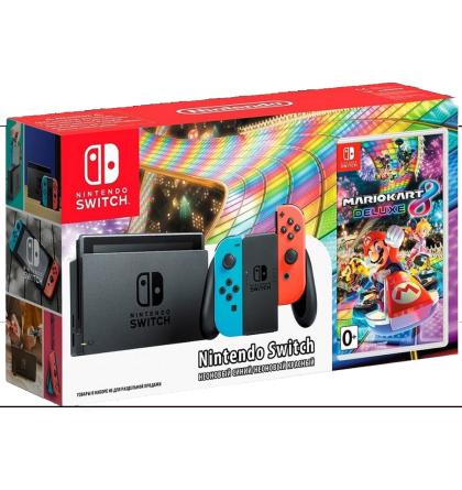Nintendo Switch met mario kart 8 deluxe voor 339,- bij Bol.com (andere game ook mogelijk)