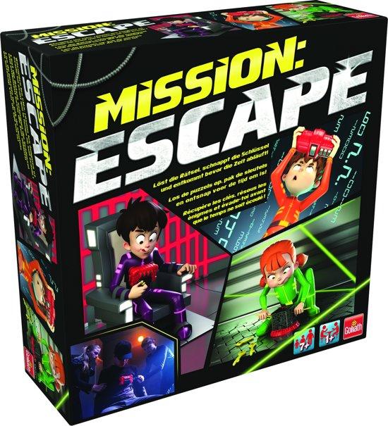 Mission Escape - Kinderspel van Goliath @ Bol.com