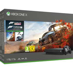 Xbox one X 1TB inclusief 3 of 2 games voor €449,-