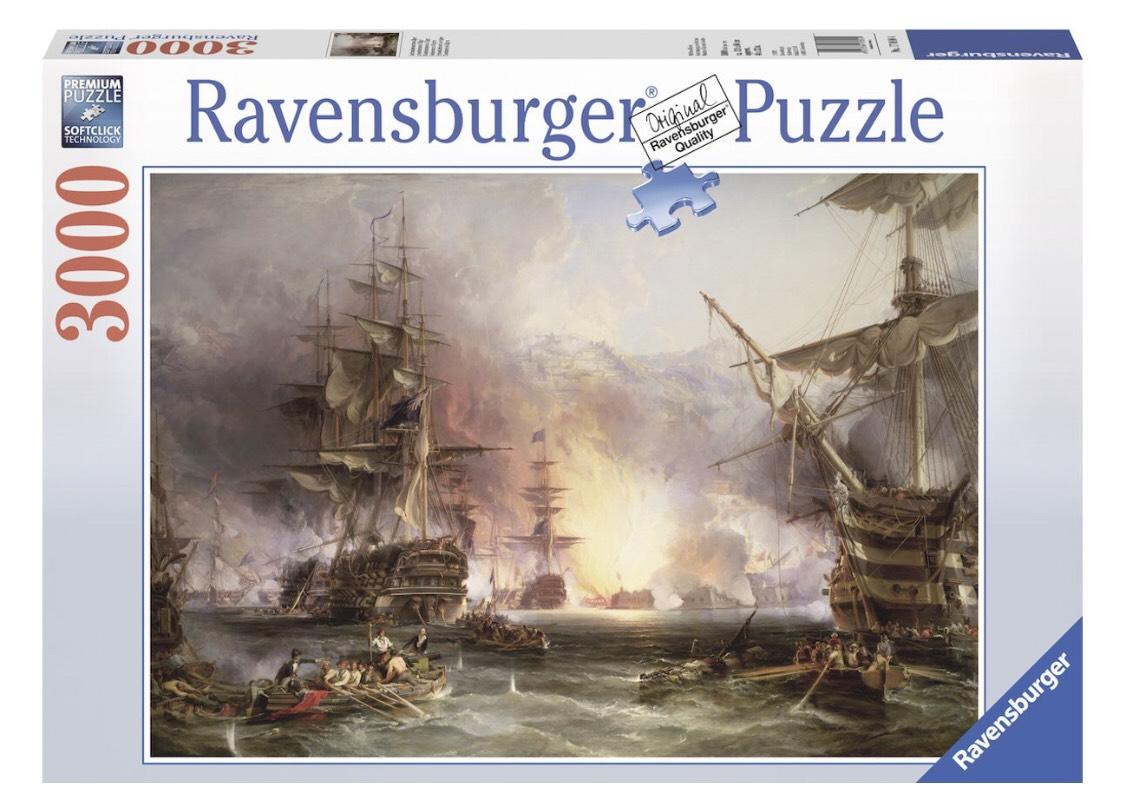 Ravensburger puzzel Bombardement Algiers - Legpuzzel - 3000 stukjes @Bol.com