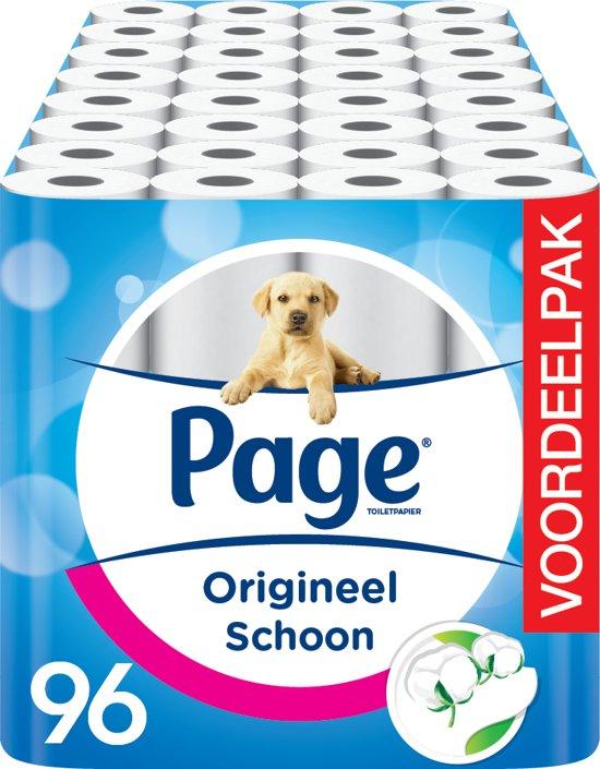 Page Origineel Schoon Toiletpapier a.k.a. Schijtpapier - 96-rol