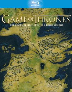 Game of Thrones - Seizoen 1-3 (Blu-ray) voor €63,15 @ Zavvi