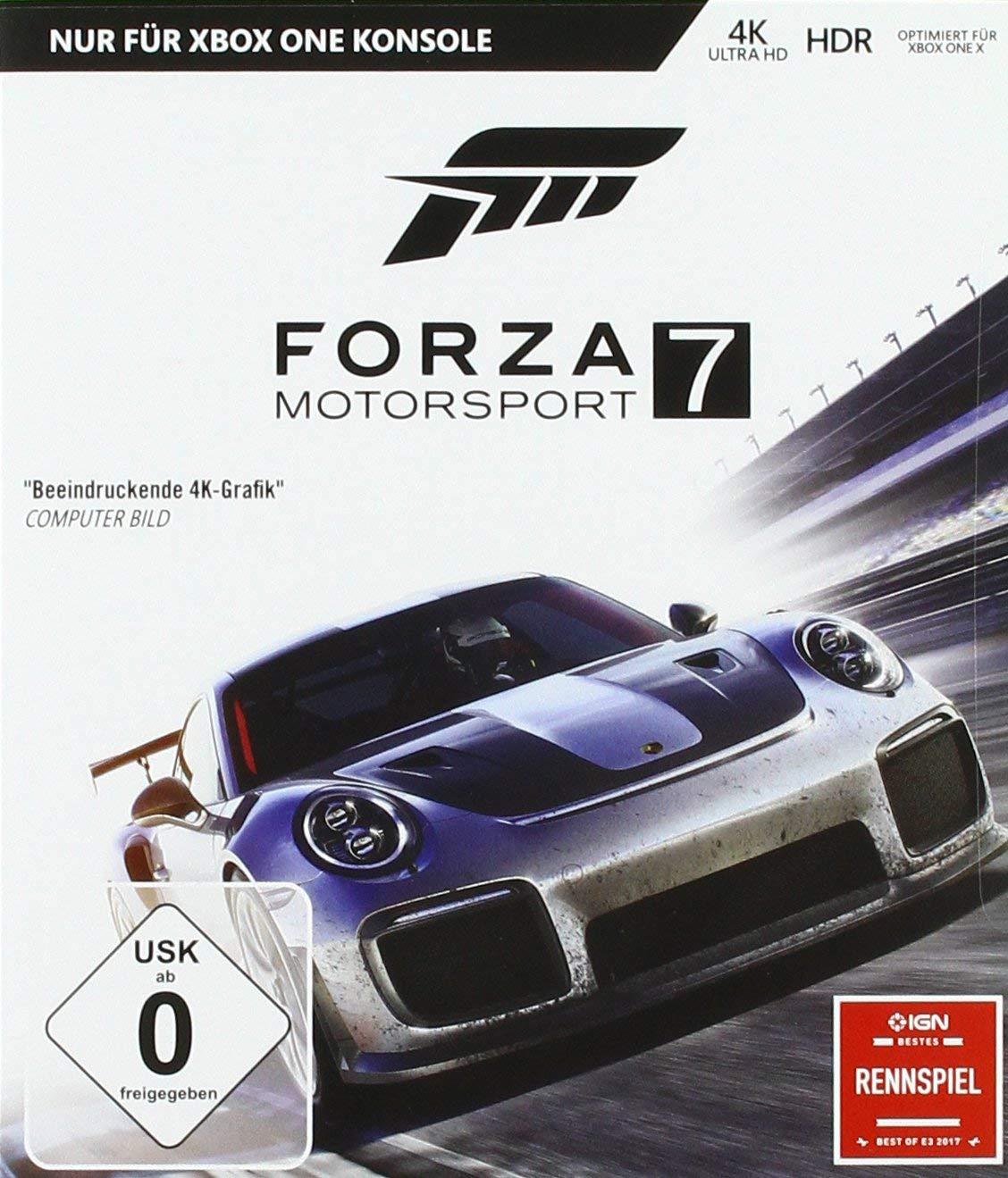 Forza Motorsport 7 - Standard Edition (Xbox One) voor €18,48 @ Amazon.de (Prime)