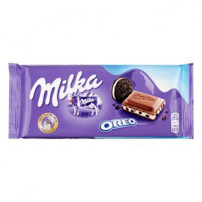 [Grensdeal] 2 repen Milka Oreo (100 gram) voor €0,27