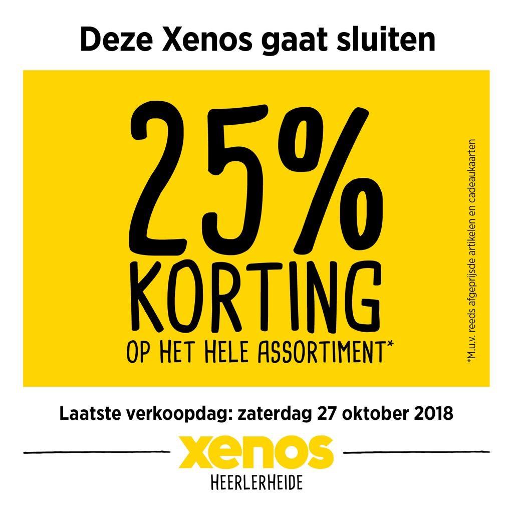 Xenos Heerlerheide gaat sluiten