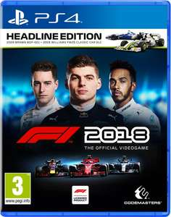 F1 2018 Headline Edition (PS4/XONE)