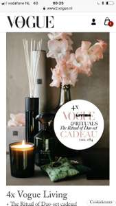 Rituals of dao set bij abonnement van vogue living