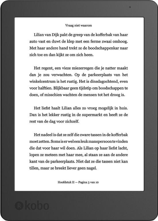 Dagdeal Kobo Aura Edition 2 met 3 maanden Kobo Plus ebook abo