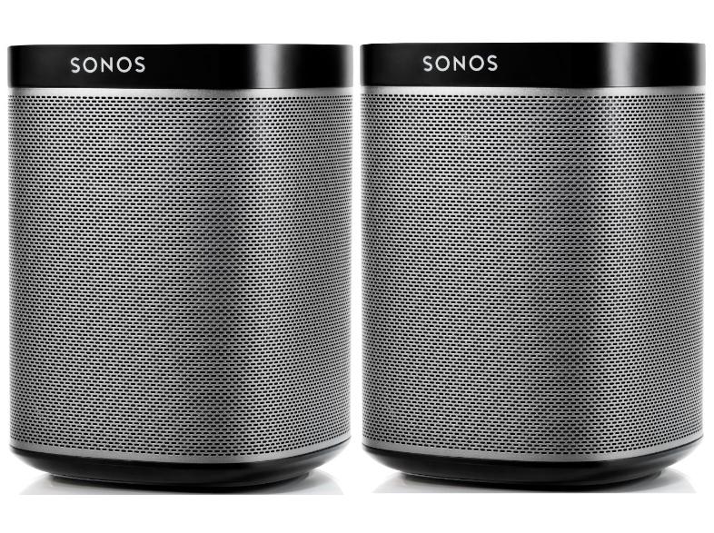 2 sonos play 1 speakers voor 350 media markt expert. Black Bedroom Furniture Sets. Home Design Ideas