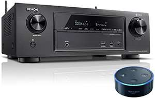 Denon AVR-X1400H receiver + Echo Dot voor €333 @ Amazon.de