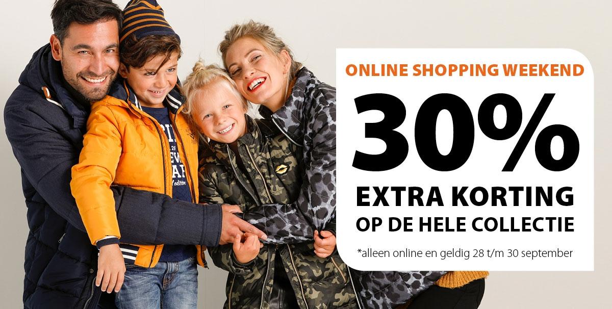 Actie: alles 30% korting - o.a. Happy Socks €3,49 @ terStal