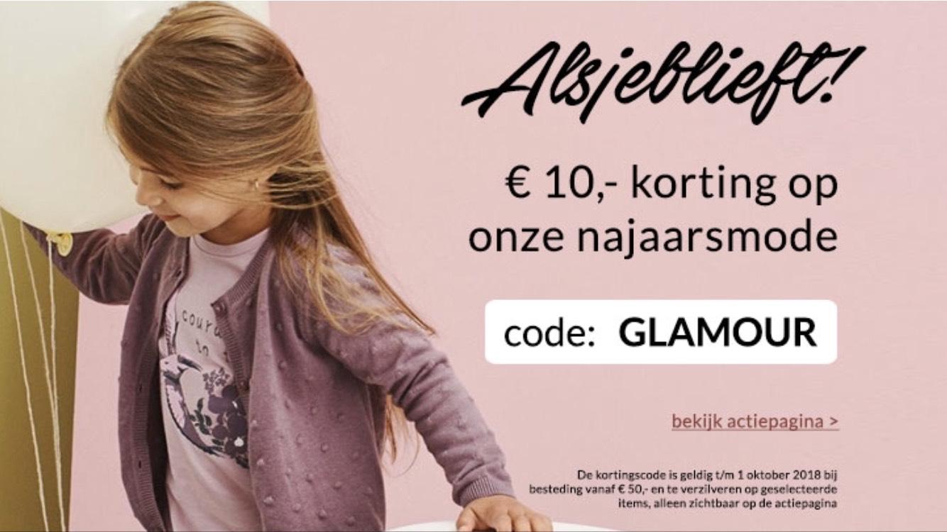 KIXX ( kinderkleding) 10 euro korting bij minimale besteding van 50 euro
