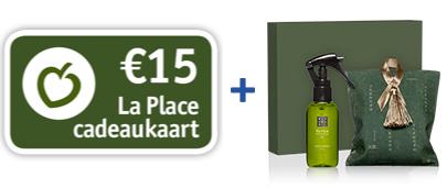 €15,- La Place + Rituals pakket @Vriendenloterij