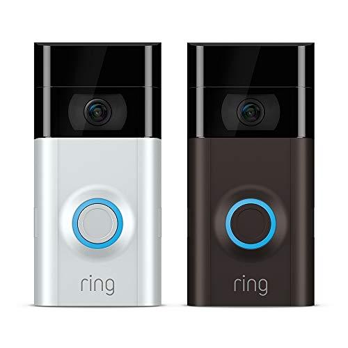Ring Video Doorbell 2 voor € 107,80 i.p.v. € 199 @ amazon.de