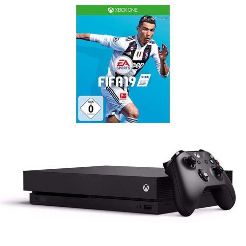 Xbox One X 1TB + FIFA 19 voor €419,99 @ Amazon.de