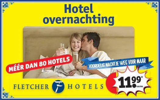 Kruidvat - Hotelovernachting Fletcher 3* p.p.p.n.
