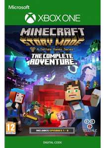 Minecraft Story Mode Complete Adventure (Xbox One) digitale code voor €3,39 @ CDkeys