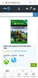 Minecraft Explorers Pack Xbox One