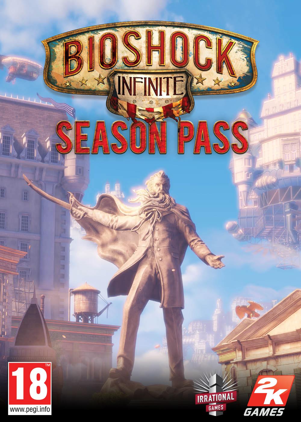 BioShock Infinite  Season Pass (PC/Mac) (Steam) voor €4,90 @ Mac Game Store