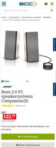 Bose Companion 20 computerspeakers bij BCC