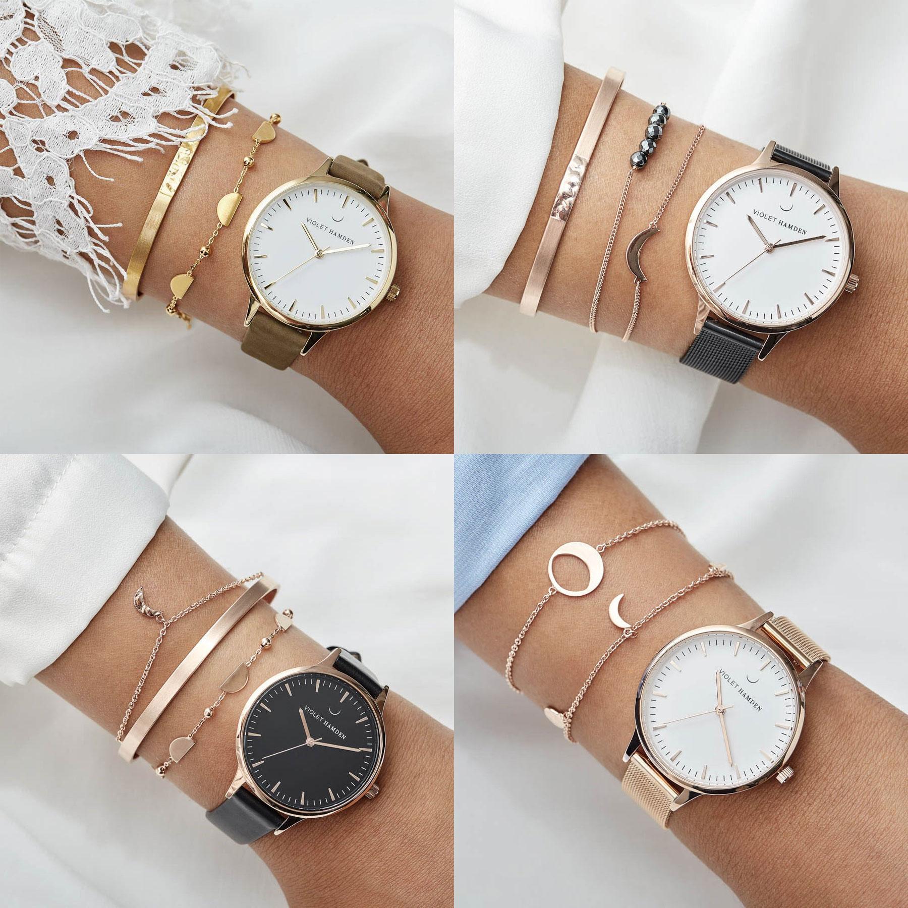 Horloges van Violet Hamden 60-70% korting @ Brandfield