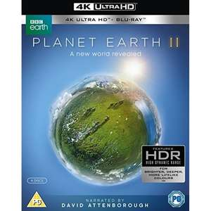 Planet Earth II 4K UHD Blu-ray