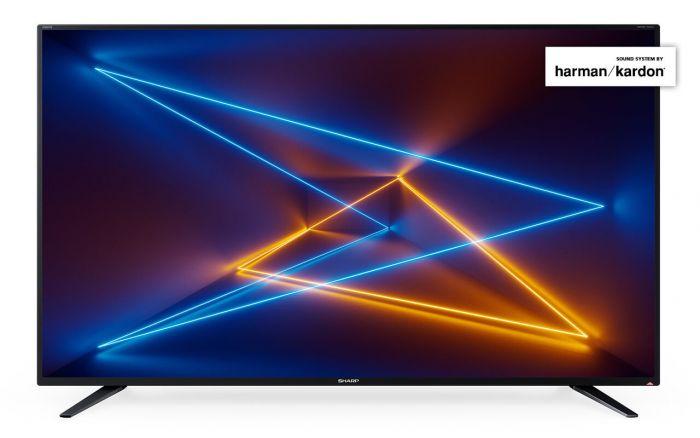 "Sharp 49"" Ultra-HD Smart TV"