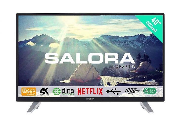 "Salora 55"" Ultra-HD Smart LED-TV"