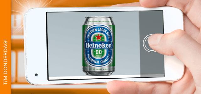 Check jouw winkel op Heineken 0.0% & verdien €1,50