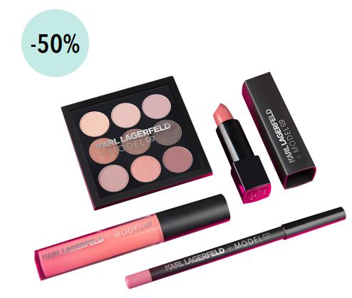 KarlLagerfeld +ModelCo make-up 50% korting @Douglas