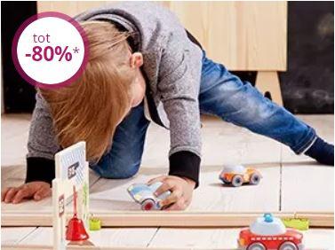 HABA speelgoed & meer met tot 80% korting + evt €10 extra @ Limango