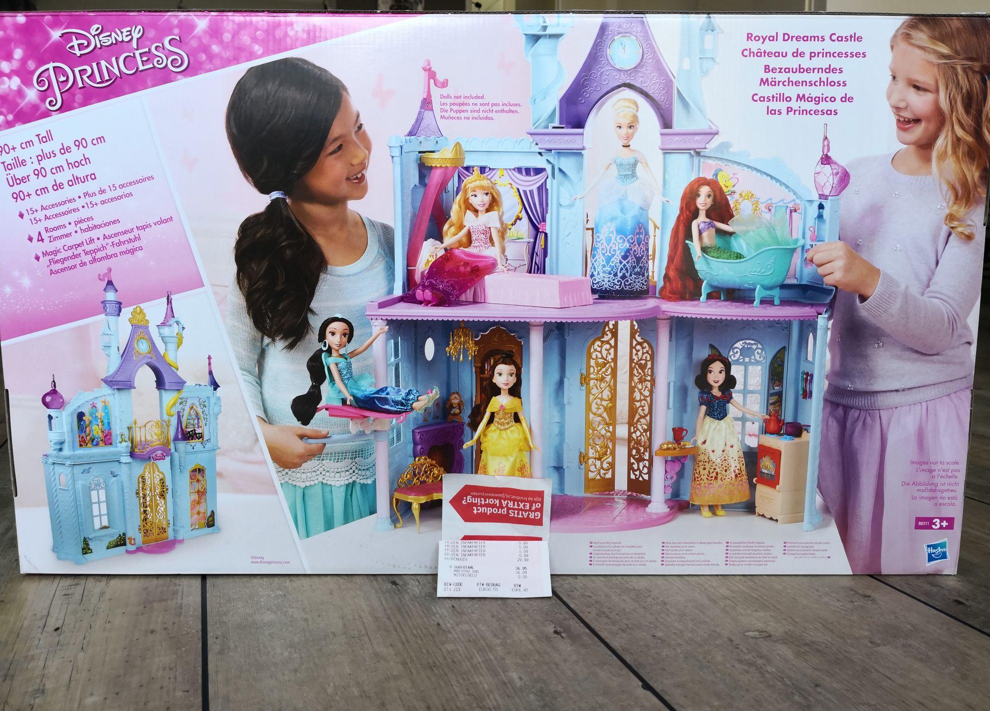 Disney prinsessenkasteel 90cm (lokaal bij de kruidvat)
