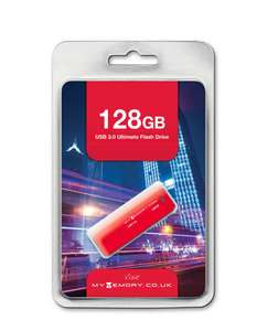 MyMemory 128GB USB 3.0 Stick voor €33,59 @ MyMemory