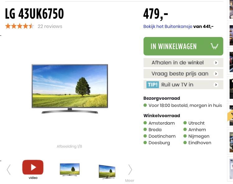 43UK6950 @plattetv.nl