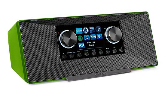 Medion LIFE P85135 WiFi DAB+ Internet Radio (Groen) voor €49,95 @ Medion