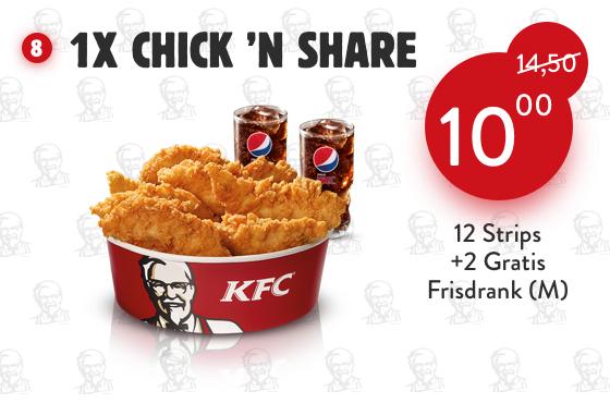 Nieuwe coupons @KFC
