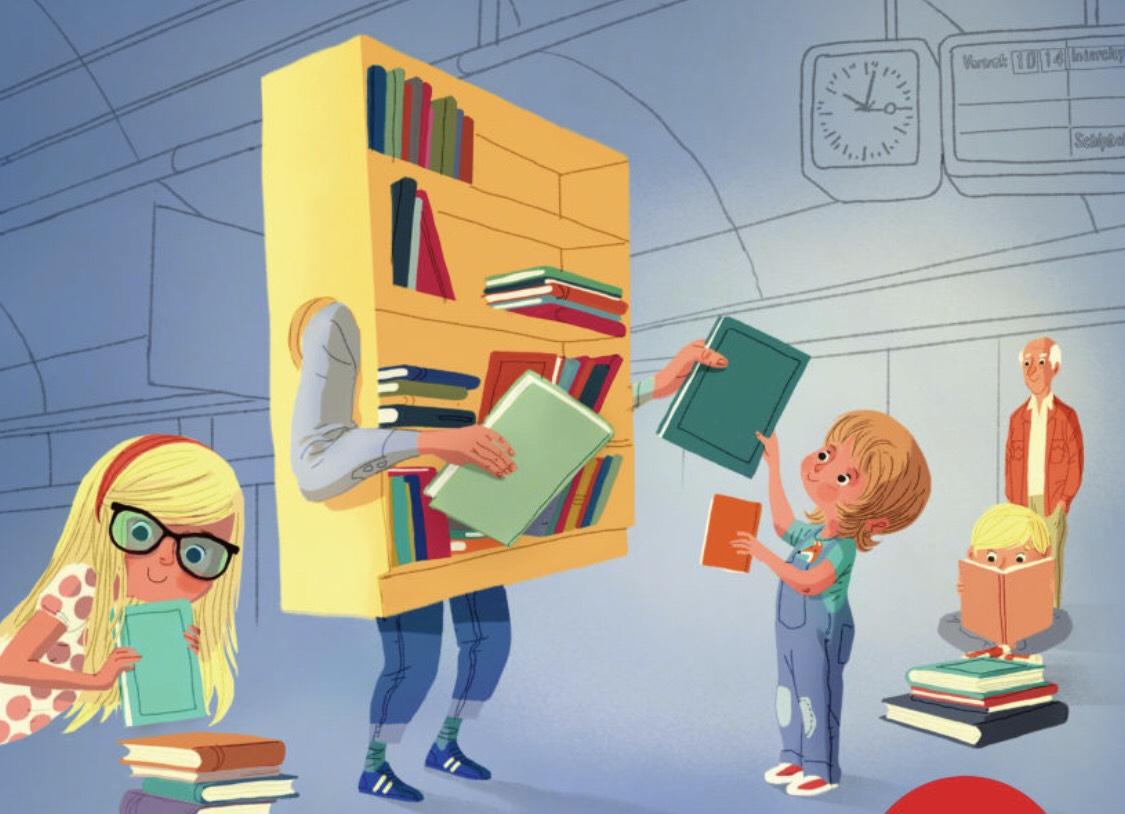 Gratis je Kinderboeken ruilen tijdens Nationale NS Kinderboekenruil