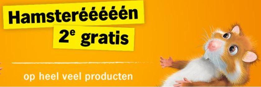 Veel producten 2e gratis, weer hamstereeeeeennn @ Albert Heijn